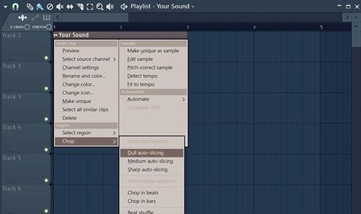 Auto corte en FL Studio 20