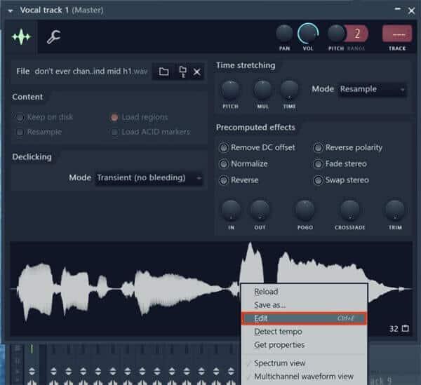 Convertir audio a MIDI 1