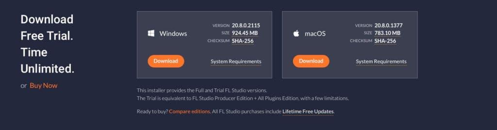 Descargar ultima version de FL Studio