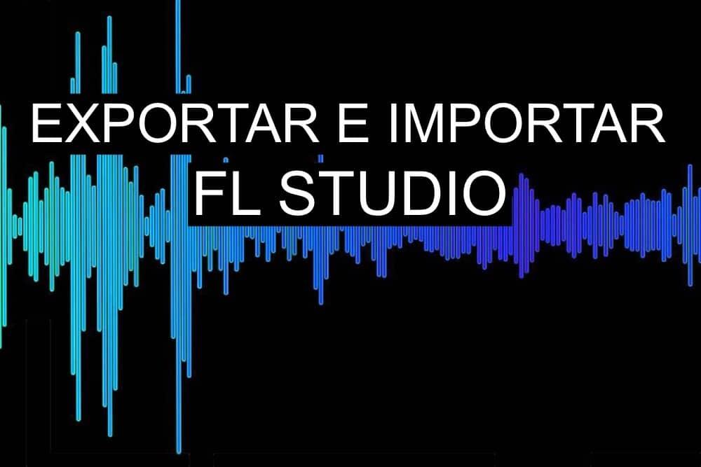 Exportar e importar audio