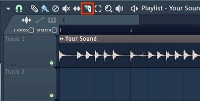 Icono de cuchilla FL Studio