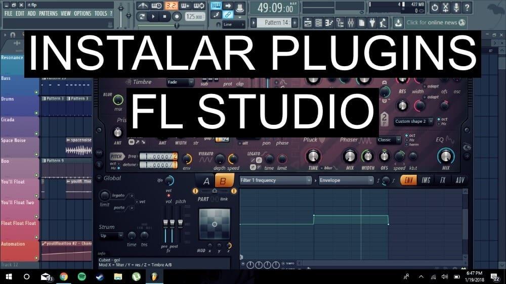 como instalar plugins en FL Studio