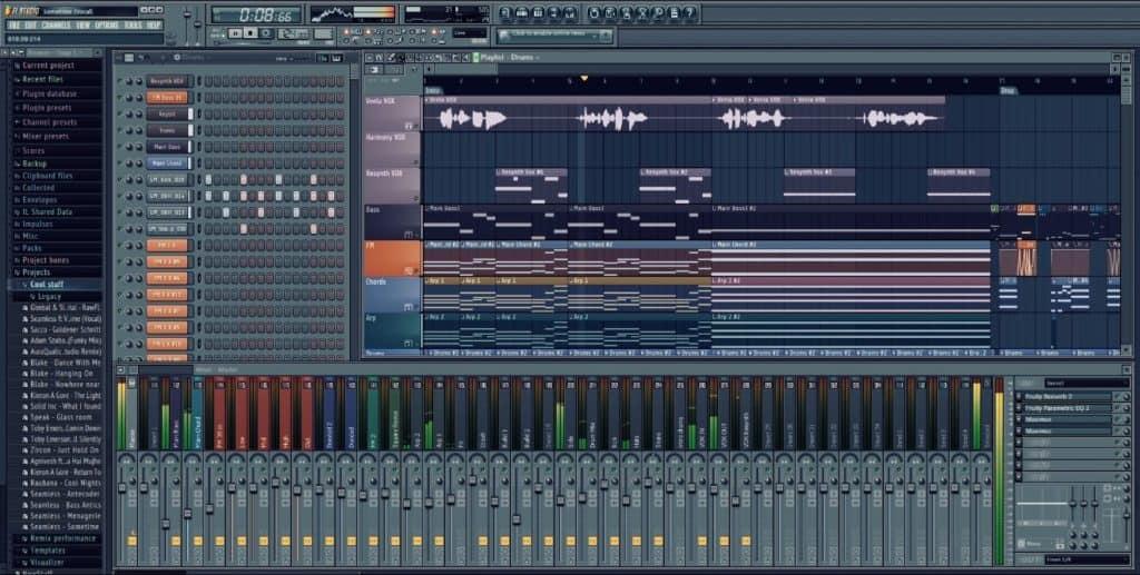 que se puede hacer con fl studio